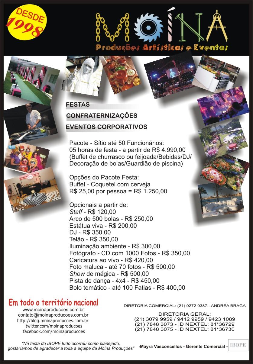 Flyer Festas